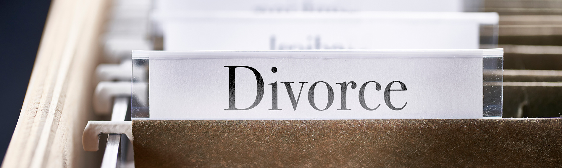 Divorce file