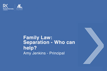 Family Law separation - who can help 360x240