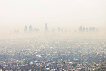 Melbourne Air Pollution 360x240